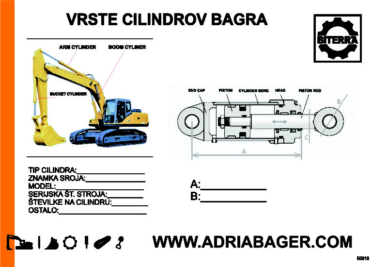 Spare parts for construction machinery – Adriabager – parts